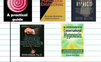 5 Best conversational hypnosis books