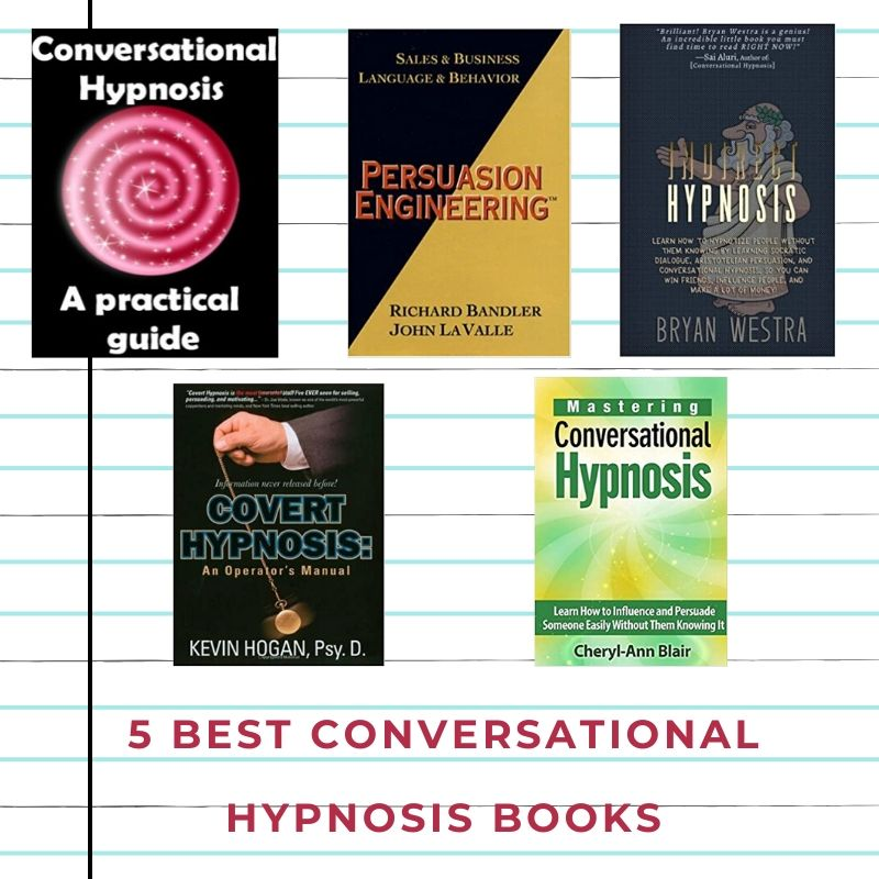 5 Best conversational hypnosis books | NLP Sure