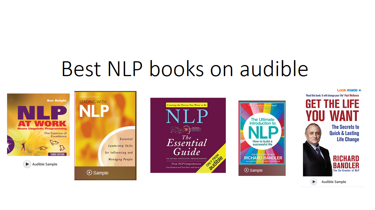 5 Best NLP books on audible | NLP Sure