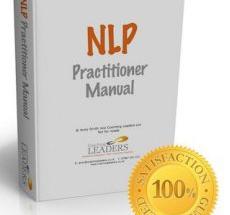 NLP practitioner manual