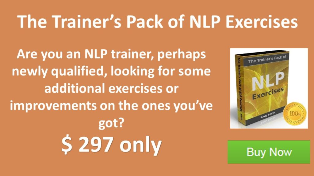 The trainers pack of NLP exercises