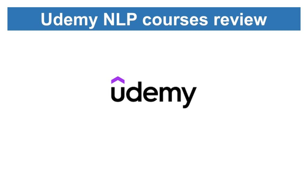 udemy NLP courses review